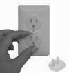 100-Pack Safety Outlet Plugs